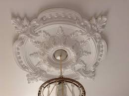 large beautiful ornate white ceiling rose home decor victorian