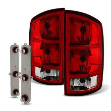 2015 dodge ram 1500 tail light bulb replacement 02 06 dodge ram oem style replacement tail lights pair