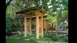 Japanese Style Pergola by Japanese Style Garden Design Ideas Youtube