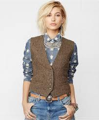 Womens Dress Vests Denim U0026 Supply Ralph Lauren Tweed Wool Vest Jackets U0026 Blazers