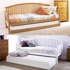 Wooden Daybed Frame Sofa Amusing Wooden Daybed Frame Uk Bedroom Simple And Neat Images
