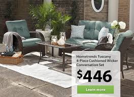 patio table sets walmart furniture conversation throughout clearance