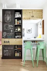 chalkboard in kitchen ideas the 25 best kitchen chalkboard walls ideas on