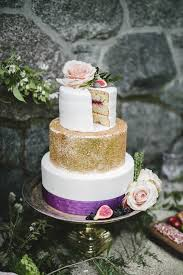 A Wedding Cake 29 Refined Purple And Gold Wedding Ideas Weddingomania