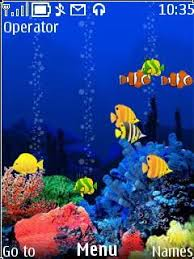 microsoft themes for nokia c2 01 free nokia c2 01 reef animated software download in nature art tag