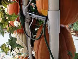 Halloween Light Show 2011 by Don Morin 2011 Halloween Pumpkin Arch Construction