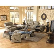 Fabric And Leather Sofa Sets Home Decor Fetching Reclining Living Room Sets And Leather Sofas