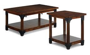 Wellington Lift Top Coffee Table Wellington Coffee Table And End Table Walnut Leon U0027s