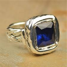 silver sapphire rings images Annie band jewelry rings jpg