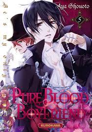 vol 9 pure blood boyfriend he u0027s my only vampire manga