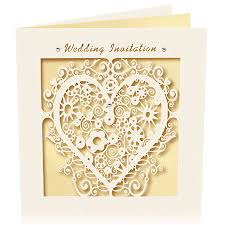Invitation Card Cover Wedding Invitation Ideas Elegant Gol Laser Cut Wedding