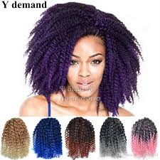 bob marley hair extensions fashion 8 mali bob ombre twist crochet braids short hair
