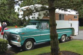 homemade pickup truck vintage truck based camper trailers from oldtrailer com