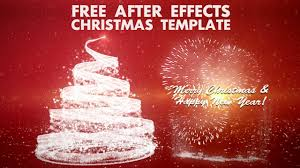 christmas after effects template free 2017 business template