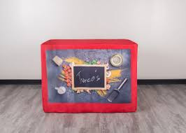 6ft Imprinted Table Cover Custom Table Covers Order Your Custom Tablecloth Totallypromotional Com