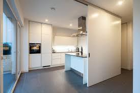 K Henhaus Haus S Offene Küche Mit Schiebetür Von Flur Essbereich