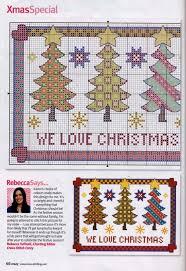 25 christmas cross stitches ideas christmas