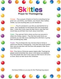 Thanksgiving Pray Skittles Thanksgiving Prayer U2013 Children U0027s Ministry Deals
