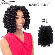 different images of freetress hair different color wand curl 8 inch crochet twist hair extension ombre