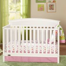 Mattress Crib Graco Cribs Benton 5 In 1 Convertible Crib With Mattress In White