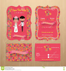 bride and groom rustic floral wedding invitation card with save