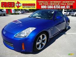 nissan 350z hr for sale 2006 nissan 350z touring roadster in daytona blue metallic