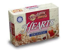 heart shaped crackers valley lahvosh baking co fresno bakery bread company