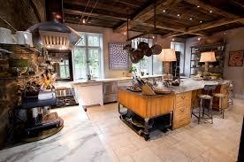 ilot central cuisine bois ilot central bois cuisine moderne ideeco