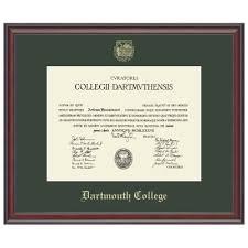 frames for diplomas murano diploma frame dartmouth college