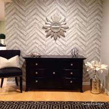 Temp Wallpaper by Tempaper Temporary Wallpaper In Herringbone Ash What A Gorgeous
