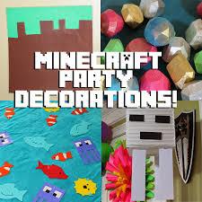 doodlecraft minecraft crafts and decorations