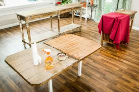 how to refinishing old tables home u0026 family hallmark channel