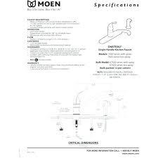 moen single lever kitchen faucet repair moen kitchen faucet repair kit bloomingcactus me