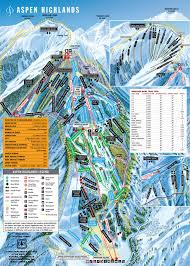Colorado Trail Maps by Aspen Highlands Ski Area Trail Map Aspen Snowmass Real Estate