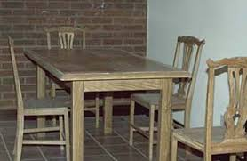 sustainable solid wood dining room furniture tables and chairs