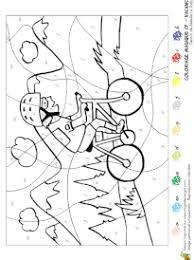coloriage magique vacances niveau cp à imprimer sur hugolescargot com
