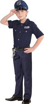 cop costume create your own boys cop costume accessories party city