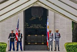History Of The Filipino Flag Memorial Day 2016 At Manila American Cemetery American Battle