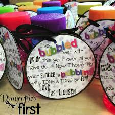 pre k graduation gifts free end of the year bubbles gift tag end of year