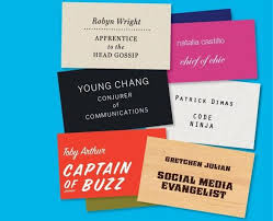 Funny Personal Business Cards Creative Job Titles Start To Pop Up In Traditional Companies Not
