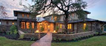 Awesome Hill Country Contemporary House Exterior With Beautiful - Texas hill country home designs