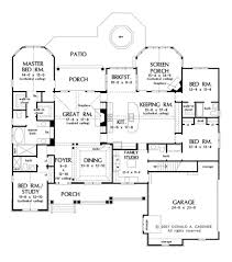 craftsman style house plan 4 beds 4 baths 2613 sq ft plan 929