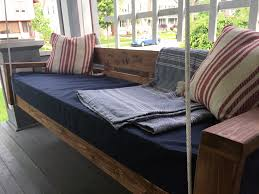 diy hanging daybed part 2 and then we tried