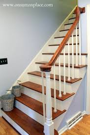 refinished staircase on sutton place