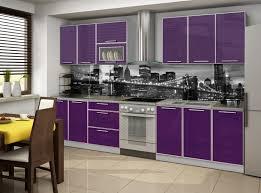 meuble cuisine violet cuisines mobilier cuisine couleur aubergine cuisine couleur