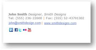 email signature examples wisestamp email goodies