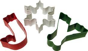 3 cookie cutter sets candyland crafts