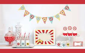 Circus Birthday Decorations Circus Birthday Party Decorating Kits Birthday Wikii