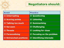 Seeking Text Negotiator Introduction To Consultation And Negotiation Skills Ppt