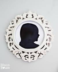 Cheap Ceiling Medallions by Diy Silhouette Art And Repurposed Ceiling Medallion Frames